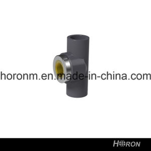 PVC-U Sch80 Water Pipe Fitting (FAMALE THREAD TEE)