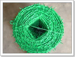 PVC Coated Barbed Iron Wire pictures & photos
