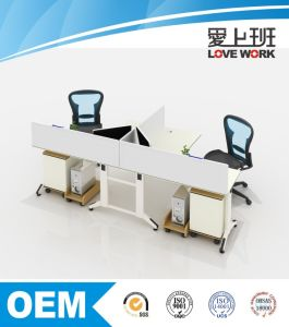 Modern Cubicle Office Partition Modular Office Workstation (FM-2L)