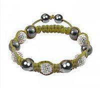Fashion Shamballa Crystal Bracelet - Sh05