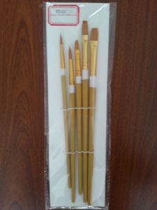 Nylon Painting Brush, Cheap Wooden Handle Bristle Paint Brush pictures & photos