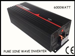 6000W DC48V AC100-120 AC220-240V Pure Sine Wave Inverter (BERT-P-6000W)