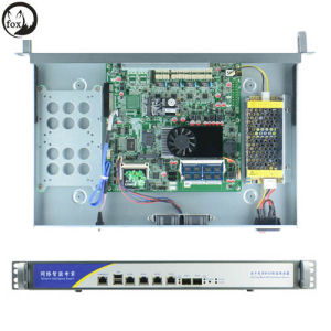 Firewall Network Security Hardware with Optical Fiber- 1u 1037u Server pictures & photos