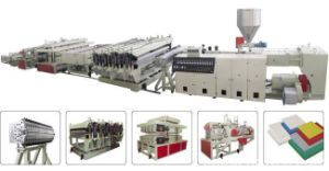 PVC Wood-Plastic Foamed Plate Extruding Production Line pictures & photos
