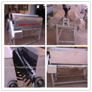 Neck Feather Cleaning Machine for Poultry Slaughtering Line pictures & photos