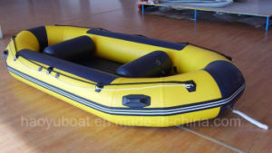 Sale Inflatable 5 Persons Raft Boat 3.4m Rafting Boat Floating Boat PVC or Hypalon Tube pictures & photos