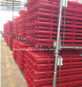 2.0m Red Powder Coated Ringlock Scaffolding Vertical Post/Standard with Spigot pictures & photos