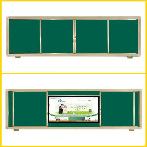 Sliding Enamel Magnetic Whiteboard for Teaching pictures & photos