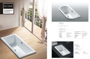 New Design Acrylic Deluxe Bathtub pictures & photos