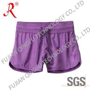 Purple Fabric New Women′s Sport Pants (QFS-4093) pictures & photos