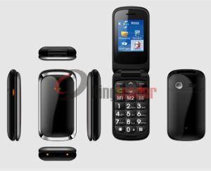 2.2inch Single-SIM WCDMA 3G Flip Senior Phone (W73C) pictures & photos