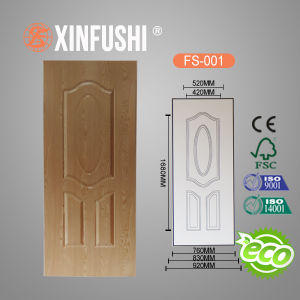New Design Melamine Faced Molded HDF Door Skin pictures & photos