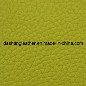 High Quality Classical Color Faux PU Sofa Leather pictures & photos