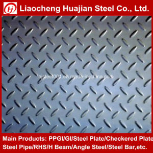 Q235 Hot Rolled Mild Steel Checker Plate in Good Quality pictures & photos