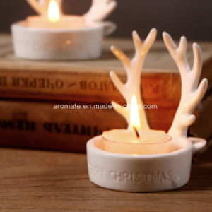 Christmas Decoration Ceramic Tealight Holder (CC-06) pictures & photos