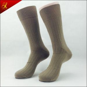 Men Custom Dress Socks with Logo pictures & photos