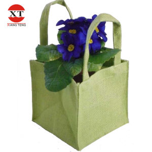 Green Jute Bag Sacks Gift Bag  (FLY-HM90001) pictures & photos