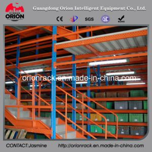 Multi-Layer Display Shelves with Steel Structure Garret pictures & photos
