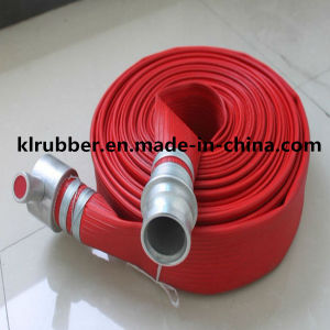 "3/4""-12""Flexible PVC Layflat Hose for Irrigation pictures & photos"
