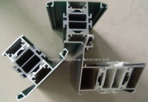 Aluminium Extrusion for Heat-Break Window Frames pictures & photos