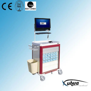 Moveable Multifunctional Medicine Trolley (P-14) pictures & photos
