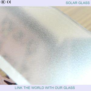 3.2mm Extra Clear Prismatic Patterned Glass for Solar Collector pictures & photos