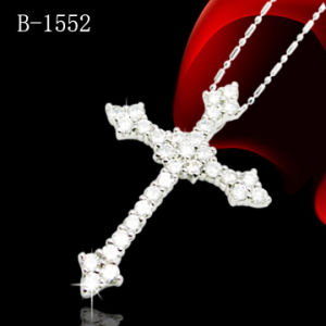 Cross Pendant with 925 Sterling Silver (B-1552) pictures & photos