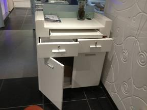 Modern Reception Counter Check out Desk (TKN-D612) pictures & photos