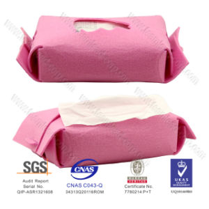 Hot Selling 2015 Pink Felt Tissue Box, Felt Tissue Container, Nonwoven Felt Paper Tissue Box for Promotion pictures & photos