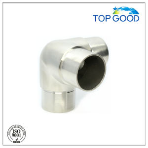 Stainless Steel Three Way Corner Tube Connector (52032) pictures & photos
