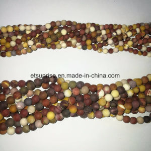 Natural Crystal Matte Finished Frosted Mookite Bead Jewellery pictures & photos