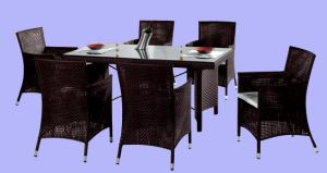 All Weather Rattan Furniture Dining Set (MO 103)