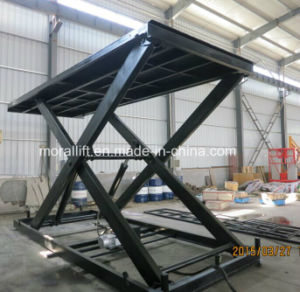 Two Cylinders Hydraulic Scissor Lift Platform(SJG) pictures & photos