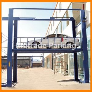 Four Post Type Hydraulic Parking Lift (F-VRC) pictures & photos