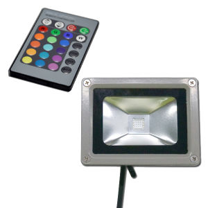 CE RoHS COB 10W LED RGB Floodlight pictures & photos