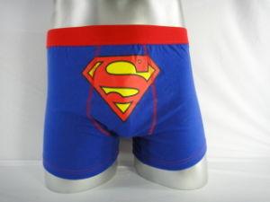 OEM Cotton/Spandex Men′s Boxer and Underwear Accept Customers′ Logo/Brand/Design/Tag