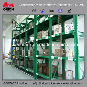 Warehouse Storage Slid Mould Shelf Rack pictures & photos