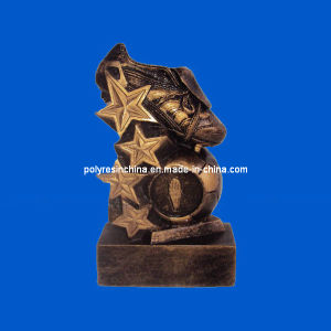 High Quality Polyresin for Soccer Ball Awards pictures & photos