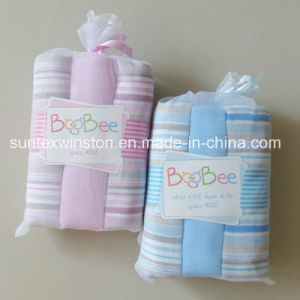 Baby Muslin Wrap Swaddle Blanket Diaper 100% Cotton Square pictures & photos