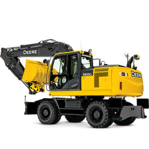 Wheeled Type Hydraulic Small Mine Excavator for Digging