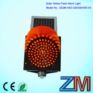 8/12 Inch (200/300) Waterproof LED Flashing Vintage Solar Traffic Flasher pictures & photos