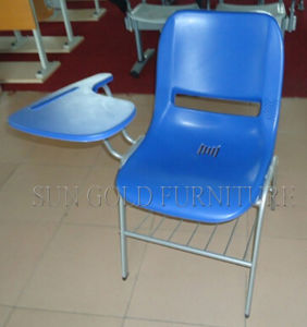 Student Chair with Plastic Writing Board for School Use (SZ-SF05) pictures & photos