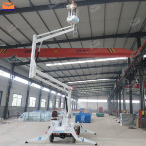 China Made Four Wheels Compact Boom Lift pictures & photos