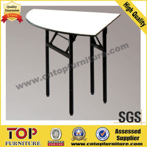 Hotel Plywood Steel Folding Tables pictures & photos