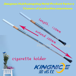 Telescopic Cigarette Holder Party Partner Silver pictures & photos