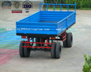 Farm Best Quality and Low Price Tractor Heavy Duty Farm Trailer for Sale pictures & photos