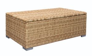Outdoor Leisure Rattan Storage Cushion Box