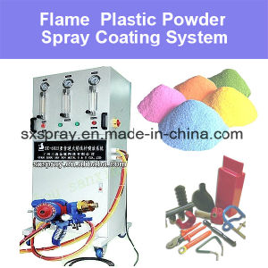 Thermal Flame Plastic Spray Automatic Coating Machine Fast Spraying Equipment for Plastic (Polythene / Nylon Acid Resistant Anti Alkali Proof Surface Treatment