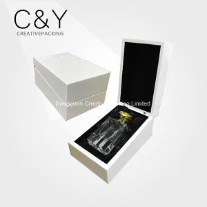 White Luxury High Gloss Finish Wooden Jewelry Box pictures & photos