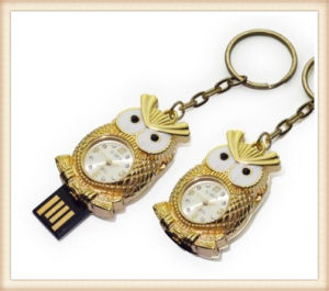 Cartoon Diamond Lovely Clock USB Flash Memery Stick (ED013) pictures & photos